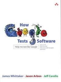 """Обложка книги """"How Google Tests Software"""""""