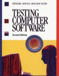 "Обложка книги ""Testing Computer Software"""